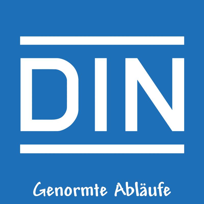 Genormte Abläufe und zertifizierte Produkte Made in Germany