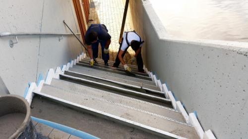 Besonders für Treppenstufen geeignet