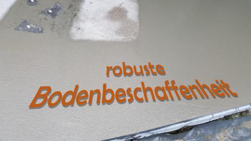 Robuster und leicht zu reinigender Boden